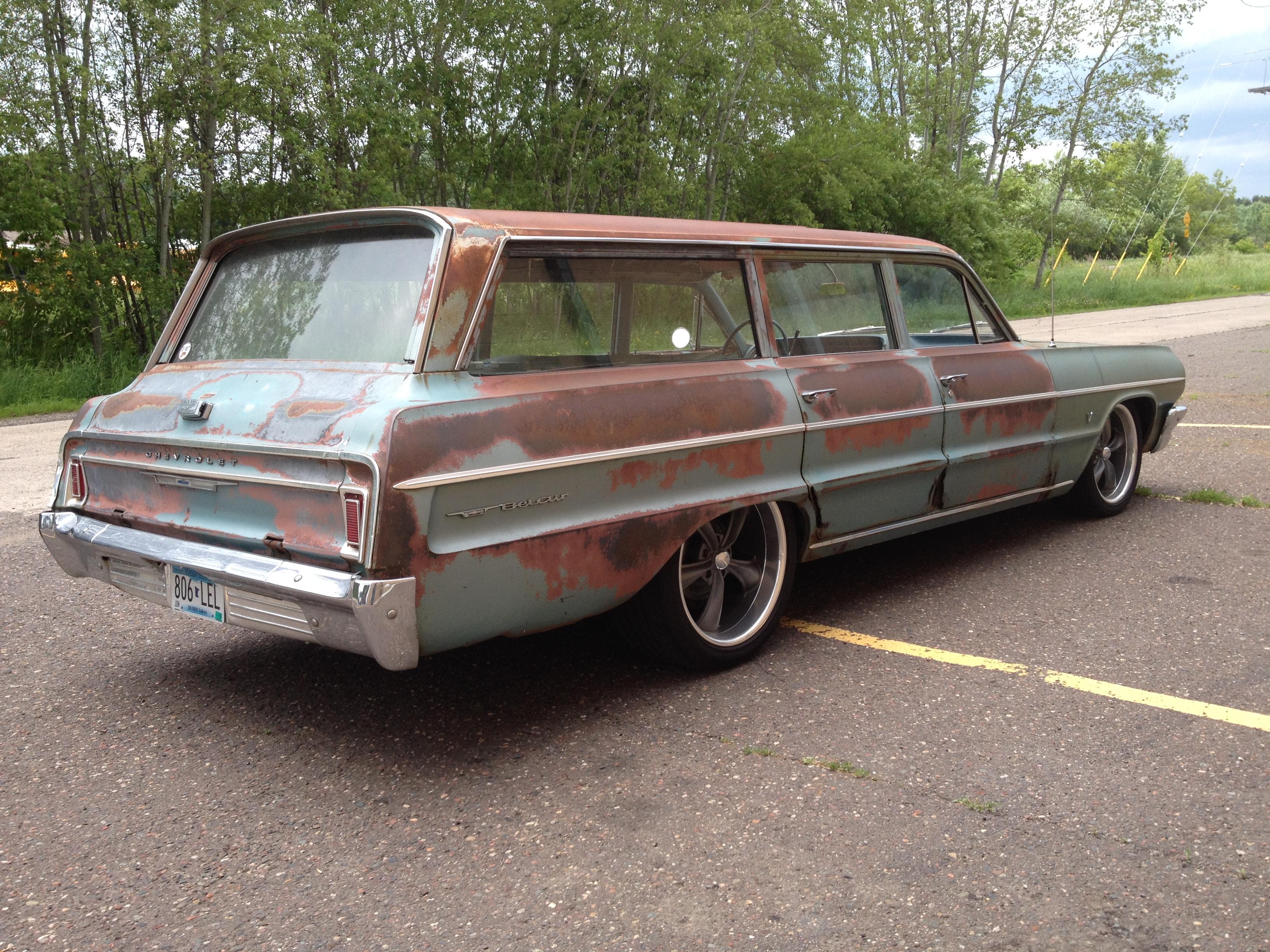 64 Belair Wagon